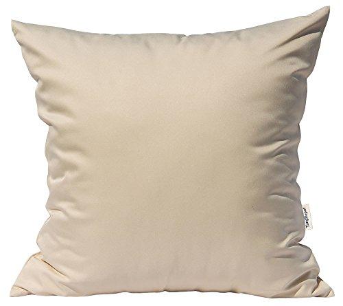 Throw Pillows Ralph Lauren : TangDepot Durable Faux Silk Solid Pillow Shams, Square Decorative Pillow Covers, Throw Pillow ...