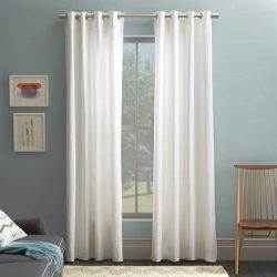Gorgeous HomeDifferent Colors and Sizes 1 Faux Silk Window Curtain Panel Width 55″ X 63&#8 ...