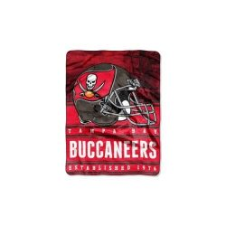 NFL Tampa Bay Buccaneers Stacked Silk Touch Throw, 60″ x 80″