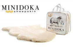 Minidoka Sheepskin Australian Lambskin Baby Rug, Cornsilk Cream, Silky Soft Shorn Wool, size Ext ...