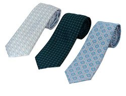 746-753-781- 3 Pack Men's Micro Silk Neck Ties – by HBNY