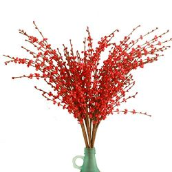 "Misswarm 10 Pieces 29.5"" Long of Jasmine Artificial flower Artificial flowers Fake Flower for We ..."