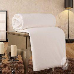 THXSILK Summer Silk Comforter 100% Natural Silk Filled, California King 110×96 inch