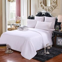 LEAFTELL 100% Natural Long Mulberry Silk Filled Comforter Silk Duvet (Twin, Spring/Autumn)