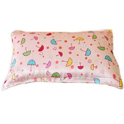 Savena Both Sides 22 Momme Mulberry Child Silk Pillowcase Benefit to Sleeping Soft Hypoallergeni ...