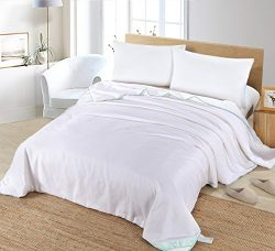 Silk Camel Luxury Allergy-free Comforter filled with 100% natural long strand mulberry silk for  ...