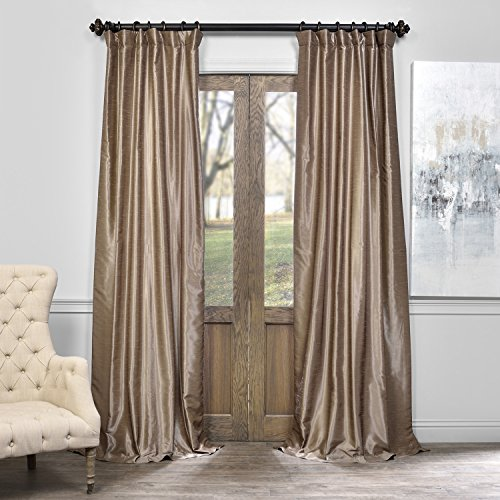 Half Price Drapes PDCH-KBS19-96 Vintage Textured Faux
