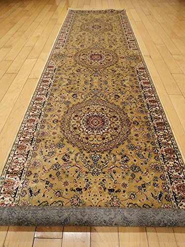 Foyer Rugs And Runners : Persian silk brand gold rug multiple size rugs xl hallway