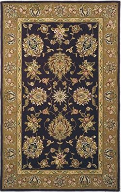 Safavieh Traditions Collection TD606C Handmade Red and Gold Wool Area Rug (9′ x 12′)