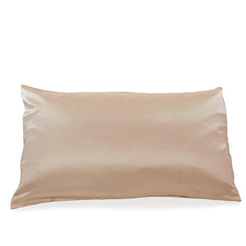 Fishers Finery 25mm Mulberry Silk Queen Pillowcase Taupe