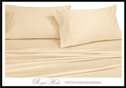 King / Cal-King Ivory Silky Soft Rayon from Bamboo Duvet Covers 100% Viscose from Bamboo Duvet C ...