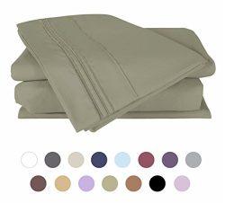 Bed Sheet Set – DUCK & GOOSE Brushed Microfiber 1800 Bedding set- Wrinkle, Fade, Stain ...