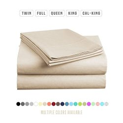 Luxe Bedding Bed Sheet Set – Brushed Microfiber 2000 Bedding – Wrinkle, Fade, Stain  ...