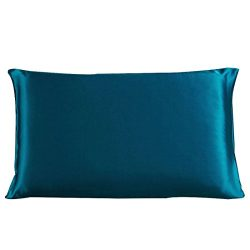uxcell 100% Pure Mulberry Charmeuse Silk Pillowcase Pillow Case Cover for Hair & Skin 19 Mom ...