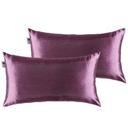 Kevin Textile Rectangle Decorative Throw Cushion Cover Lumber Pillowcases for Hair, Hidden Zippe ...