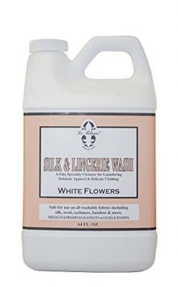 Le Blanc White Flowers Silk & Lingerie Wash – 64 FL. OZ., One Pack
