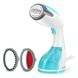 Beautural Handheld Garment Steamer Portable Home and Travel Fabric Steamer, Fast Heat Up, 260ml  ...