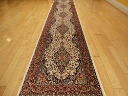 Silk Ivory Area Rug Luxury 2×8 White Classic Carpet 2×7 Hallway Runner Rugs Persian Ar ...