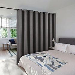 Room Dividers Curtains Screens Partitions – NICETOWN Extra Large Grommet Top Space partiti ...
