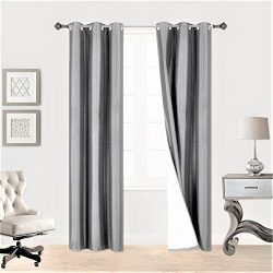 Midwest (WC34) Different Colors and Sizes1 Panel Drape Window Treatment Curtain Thermal Insulate ...