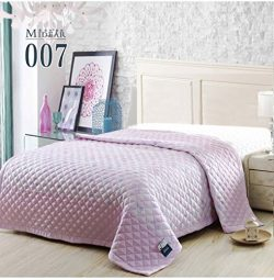 Klorim King/queen Size Bedroom Summer Quilts Thin Comforter Silk Floss Light Weight (Twin Extra- ...