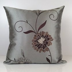 Gray Till, Tan and Brown Pillow, Throw Pillow Cover, Decorative Pillow Cover, Cushion Cover, Acc ...