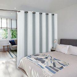 Room Dividers Curtains Screens Partitions – NICETOWN Room Darkening Grommet Curtains Room  ...