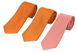 741-744-784- 3 Pack Men's Micro Silk Neck Ties – by HBNY