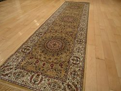 Stunning Silk Persian Runner Rug Gold Runners 2×8 Silky Long Narrow Rug 2×7 Tabriz Run ...