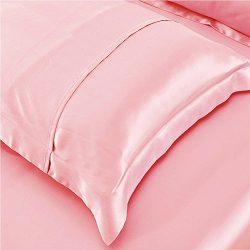 Satin Silk Pillowcase Pillow Covers – YANIBEST Satin Silk Pillowcase For Facial Beauty Hai ...