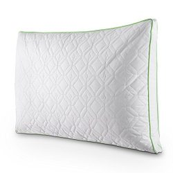Bed Pillow Queen, Larnn Anti-Mite Bedding Pillow with Silk Cotton and Feather Velvet for Breatha ...