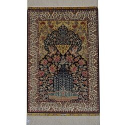 YLU 2'x3′ Oriental Traditional Persian Silk Area Rug Art Collection Tree of Life Han ...