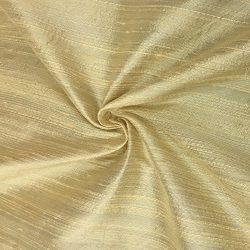 100% Pure Silk Dupioni Fabric 54″ Wide BTY Drape Blouse Dress Craft (Sunset Yellow)