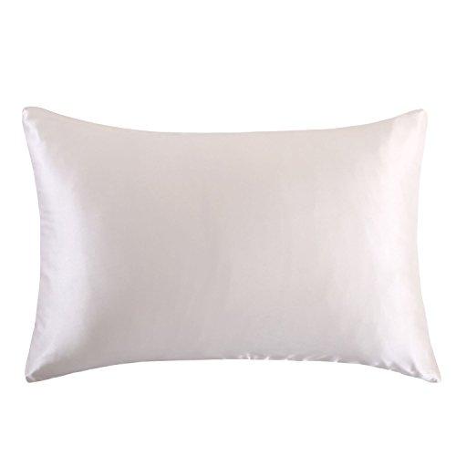 OOSILK Mulberry Silk Pillowcase With Hidden Zipper 19mm