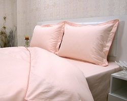 Linenwalas Pure Bamboo Soft & Cozy Duvet Cover 3-Piece Set – Rose Gold – Queen/Full