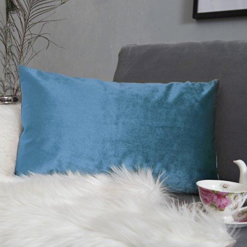 Throw Pillows Ralph Lauren : Home Brilliant Velvet Oblong Lumbar Toss Pillow Cover Decorative Cushion Case for Chair/ Nursing ...
