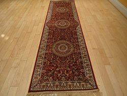 Stunning Silk Persian Area Rugs Traditional 2×8 Silk Rug Hallway Red Rugs 2×7 Runners  ...
