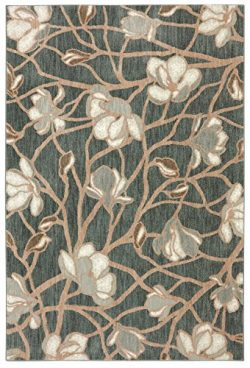 Bob Timberlake Reflections Carolina Woven Rug, 8'x10′, Abyss Blue