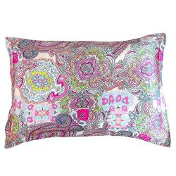 IBraFashion Silk Pillowcase for Hair and Skin Beauty Women Natural Silk Pillowcase Standard/Quee ...