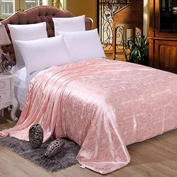 hellosy 100% Pure Long Mulberry Silk Filled Comforter Silk Comforter Silk Quilt Silk Duvet ( 67& ...