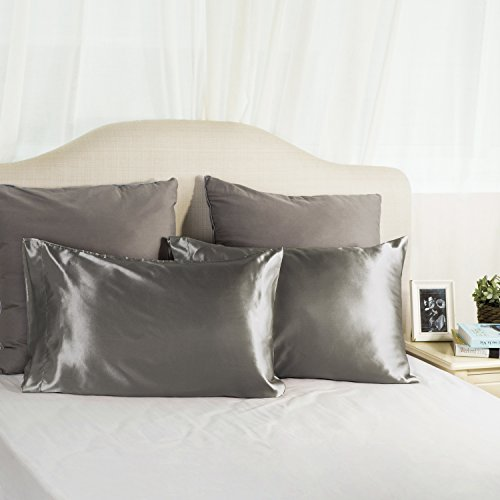 Luxury Silk Satin Pillowcase Skin And Hair Beauty Sateen
