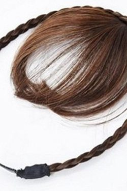 Generic Magic air Liu Hai wig hair tails invisible sheet with the hoop naturalness trace head cu ...