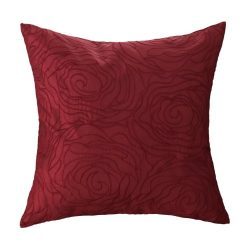 CaliTime Cushion Cover Throw Pillow Case Shell for Home Sofa Couch, Roses Floral Embroidered 18  ...