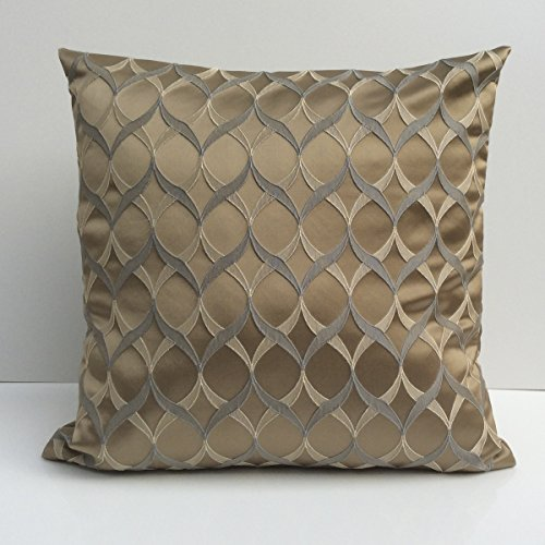 Gray, Tan and Light Tan Pillow, Throw Pillow Cover, Decorative Pillow Cover, Cushion Cover, Acce ...