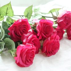 DIY Artificial Silk Craft Decoration Flowers Bridal Bouquets, Weddings, Wreaths, & Crafts, S ...