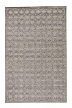 Jaipur Living Trella Trellis Gray/Silver Area Rug (9′ X 12′)