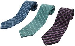 Set of 3 Elegant Neck Ties By Mens Collections – Multiple Sets to Chose From (22)