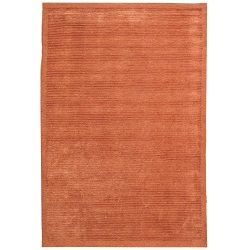 Safavieh Tibetan Collection TB212E Hand-Knotted Coral Silk & Wool Area Rug (4′ x 6′)