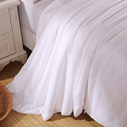 Silklife 100% Pure Long Strand Mulberry Silk Filled Comforter with Cotton Covered All Natural Ha ...