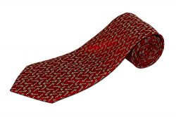 Extra Long Candy Cane Christmas Holiday Cheer Tie (63 Inches Long)
